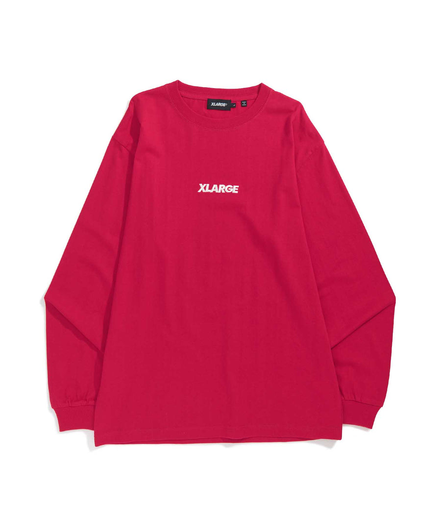 L/S TEE EMBROIDERY STANDARD LOGO 2 T-SHIRT XLARGE