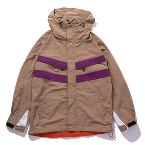 HOODED NYLON JACKET JACKET & SPORTSWEAR XLARGE