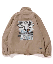 Load image into Gallery viewer, XLARGE x D*FACE STRIPE SKULL RENDER TACTICAL JACKET OUTERWEAR XLARGE