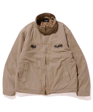 XLARGE x D*FACE STRIPE SKULL RENDER TACTICAL JACKET