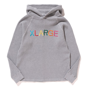 EMBROIDERY LOGO HOODED THERMAL