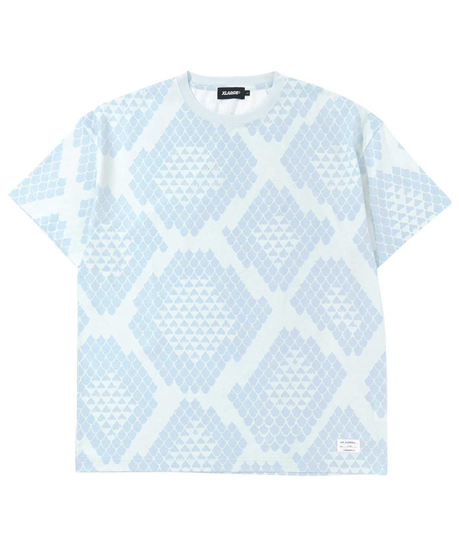 S/S REPTILE ALLOVER PRINTED TEE