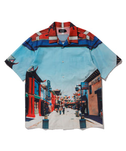 LA CHINATOWN S/S BUTTON UP SHIRT XLARGE