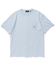 Load image into Gallery viewer, S/S EMBROIDERY SLANTED OG POCKET TEE T-SHIRT XLARGE