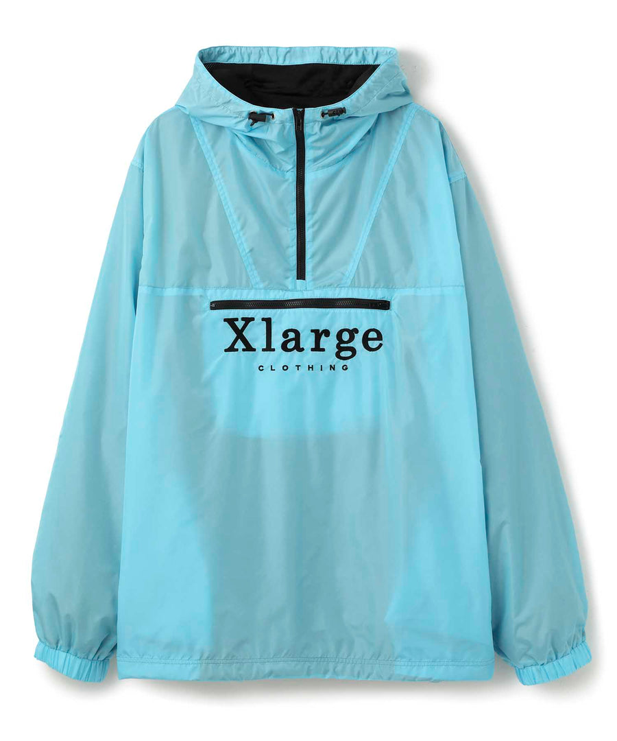 EMBROIDERY LOGO ANORAK OUTERWEAR XLARGE