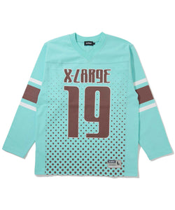 L/S FOOTBALL TEE KNITS XLARGE