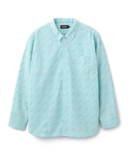 Load image into Gallery viewer, ALLOVER PRINTED LS SHIRT SHIRT XLARGE