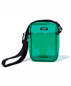 PATCHED SHOULDER PVC BAG ACCESSORIES XLARGE