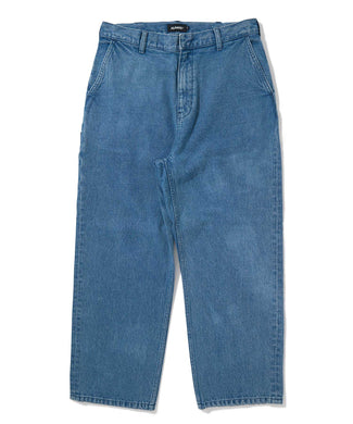 DENIM TRUCKER PANTS PANTS XLARGE