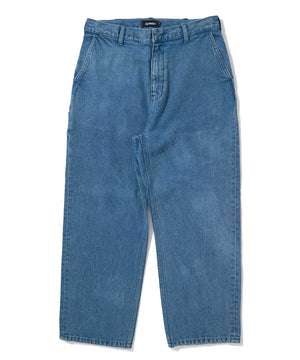 DENIM TRUCKER PANT