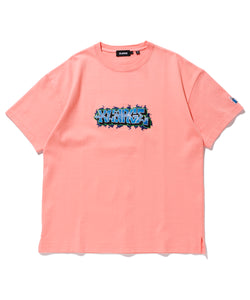 S/S HEAVYWEIGHT TEE EMBROIDERY GRAFFITI T-SHIRT XLARGE