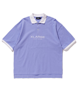 2 TONE BIG POLO SHIRT KNITS XLARGE