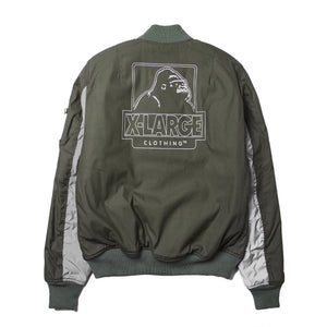 ALPHA INDUSTRIES x X-LARGE 25th ANNIVERSARY MA-1 JACKET JACKET & SPORTSWEAR XLARGE