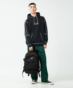 STANDARD LOGO PATCHED BACKPACK