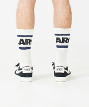 Load image into Gallery viewer, STRIPE LOGO SOCKS