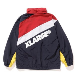 PANELED ZIP JACKET OUTERWEAR XLARGE