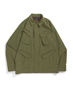 ZIPPED MIL JACKET OUTERWEAR XLARGE