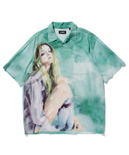 Load image into Gallery viewer, OIL PAINTING S/S SHIRT GIRL SHIRT XLARGE