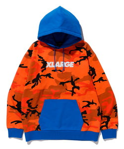 CAMO PULLOVER HOODED SWEAT FLEECE, CREWNECK, HOODIE XLARGE