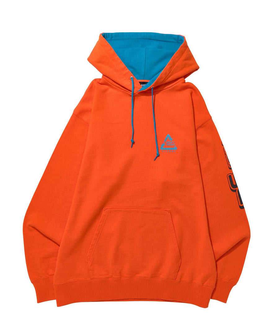BICOLOR HOODED SWEAT FLEECE, CREWNECK, HOODIE XLARGE