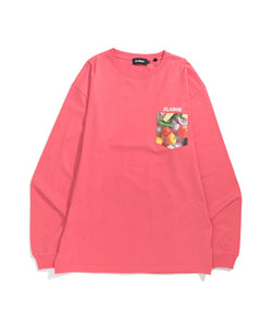 L/S INGREDIENTS SLANTED OG POCKET TEE T-SHIRT XLARGE