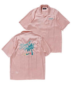 S/S ACCIDENT SATIN SHIRT SHIRT XLARGE