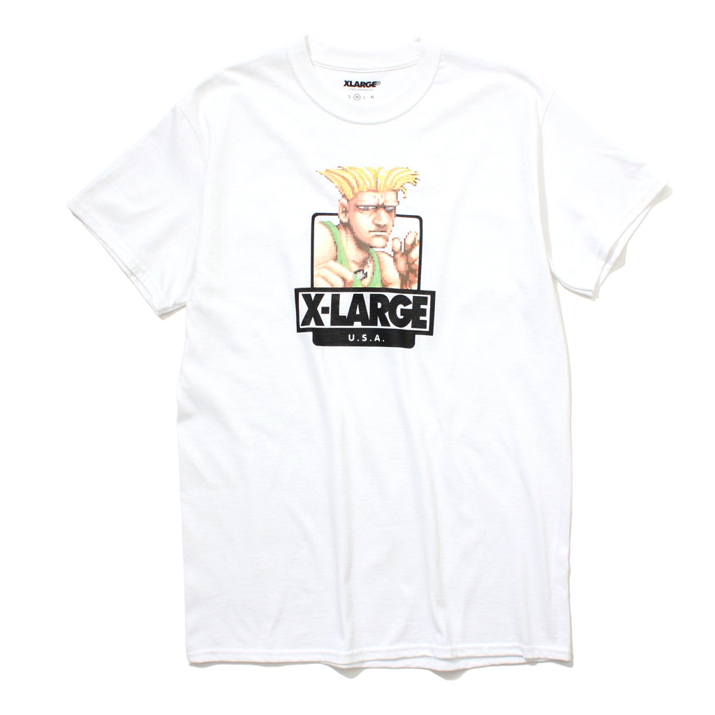 STREET FIGHTER II GUILE SS TEE - X-Large Clothing