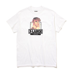STREET FIGHTER II RYU SS TEE - X-Large Clothing