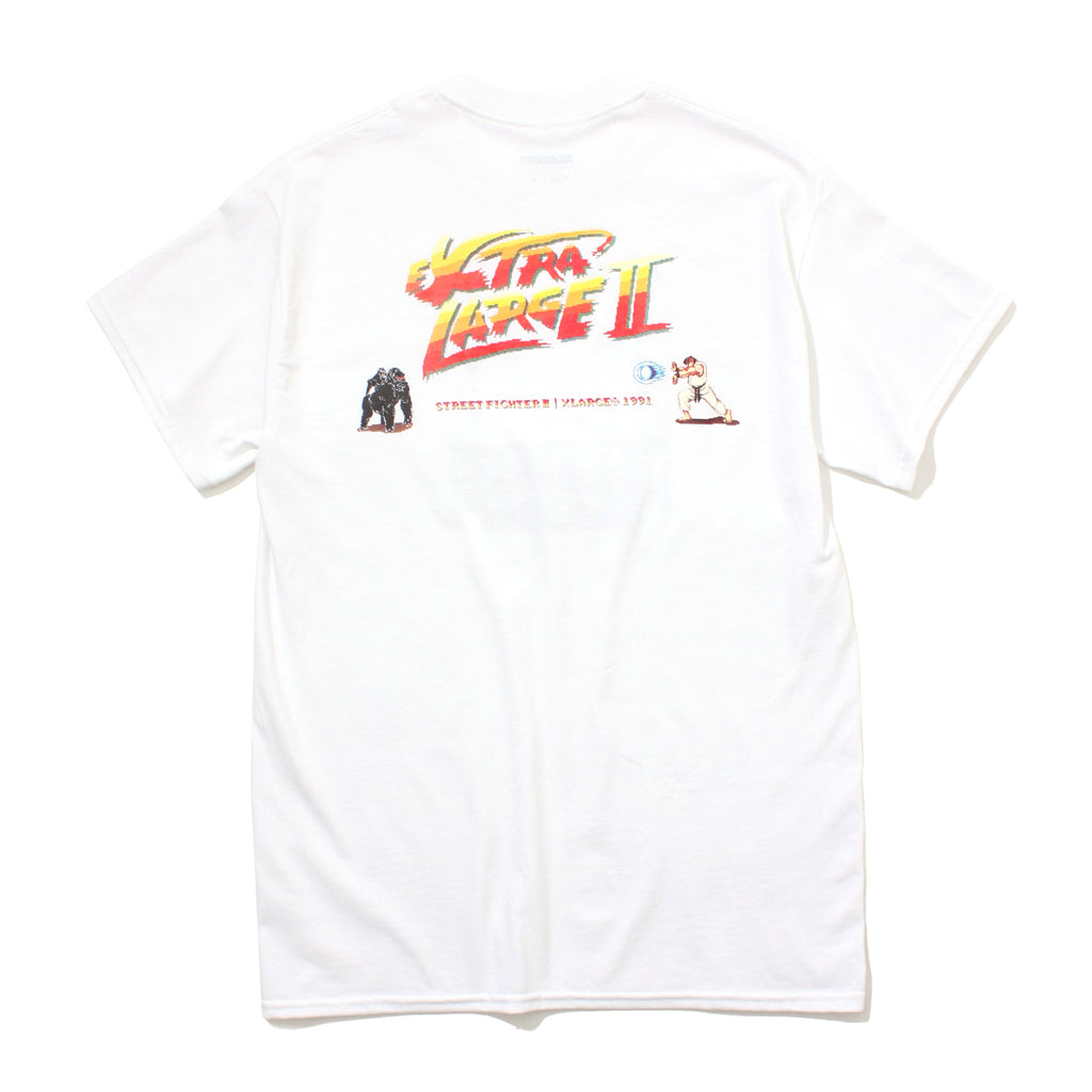 SF2 RYU SS TEE - X-Large Clothing