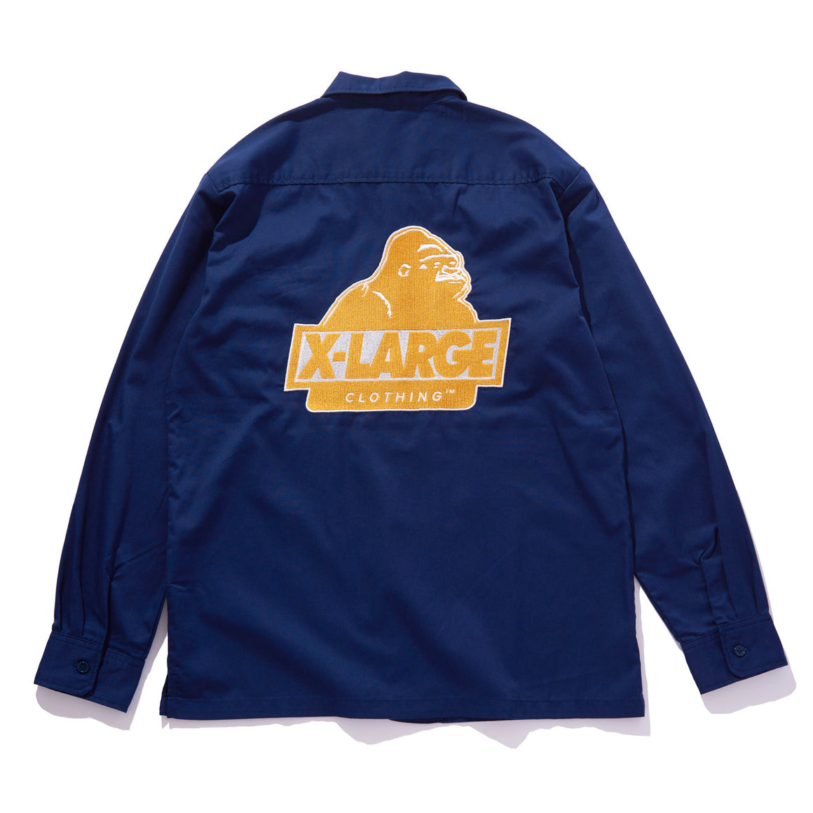 SLANTED OG LS WORK SHIRT - X-Large Clothing