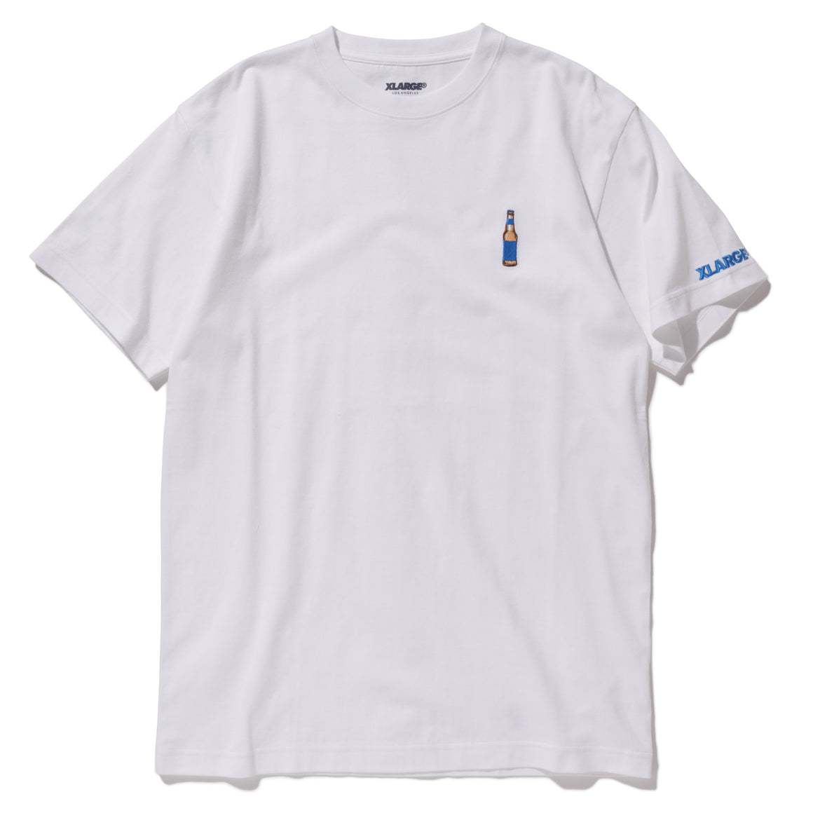 BOTTLE EMBROIDERY SS TEE