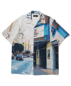 S/S OPEN COLLAR SHIRT SHIRT XLARGE