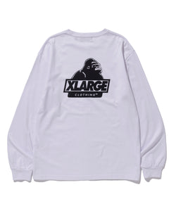 L/S TEE BACKSIDE SLANTED OG