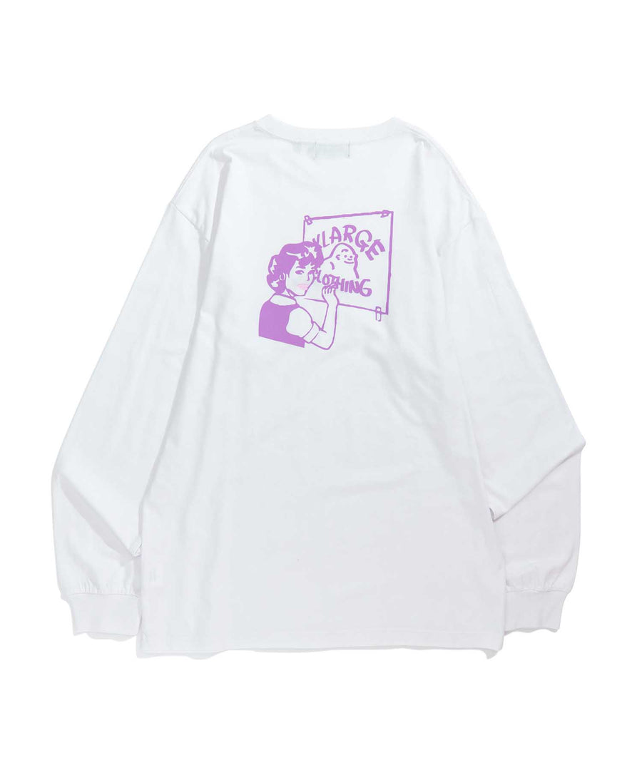 L/S TEE SMOOTH PAINTER T-SHIRT XLARGE