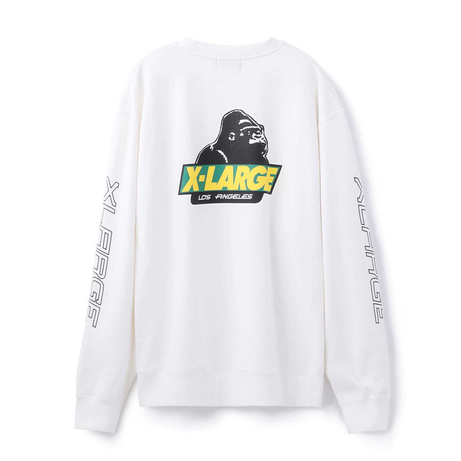 BACKSIDE OLD OG CREWNECK SWEAT FLEECE, CREWNECK, HOODIE XLARGE