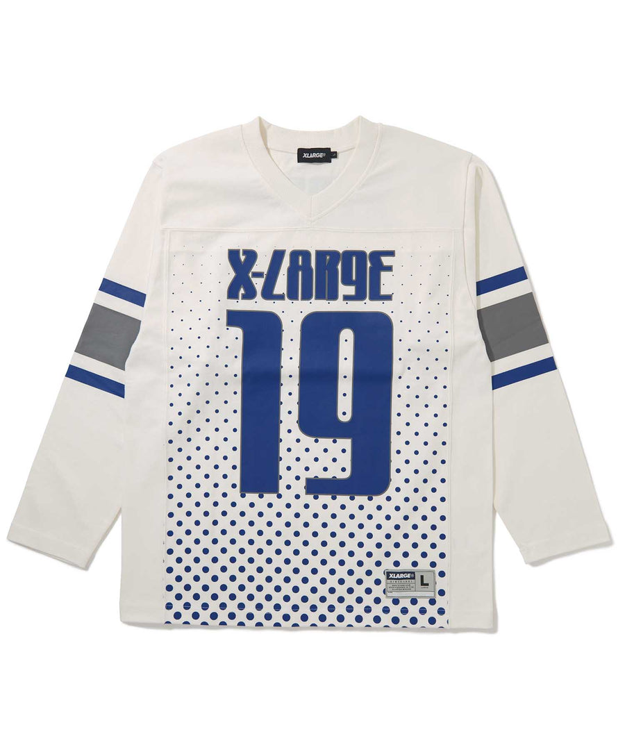 L/S FOOTBALL TEE T-SHIRT XLARGE