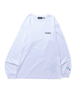 ADDICT LOGO EMBROIDERY L/S TEE T-SHIRT XLARGE