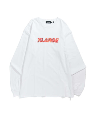 L/S TEE INGREDIENTS STANDARD LOGO T-SHIRT XLARGE