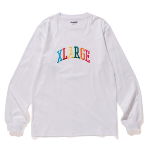 MULTI EMBRIODERY ARCH LOGO LS TEE T-SHIRT XLARGE