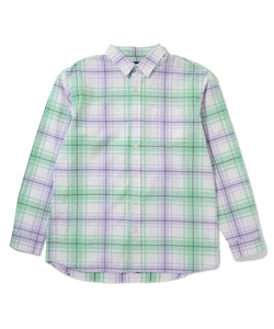 L/S PLAID PATTERN SHIRT SHIRT XLARGE