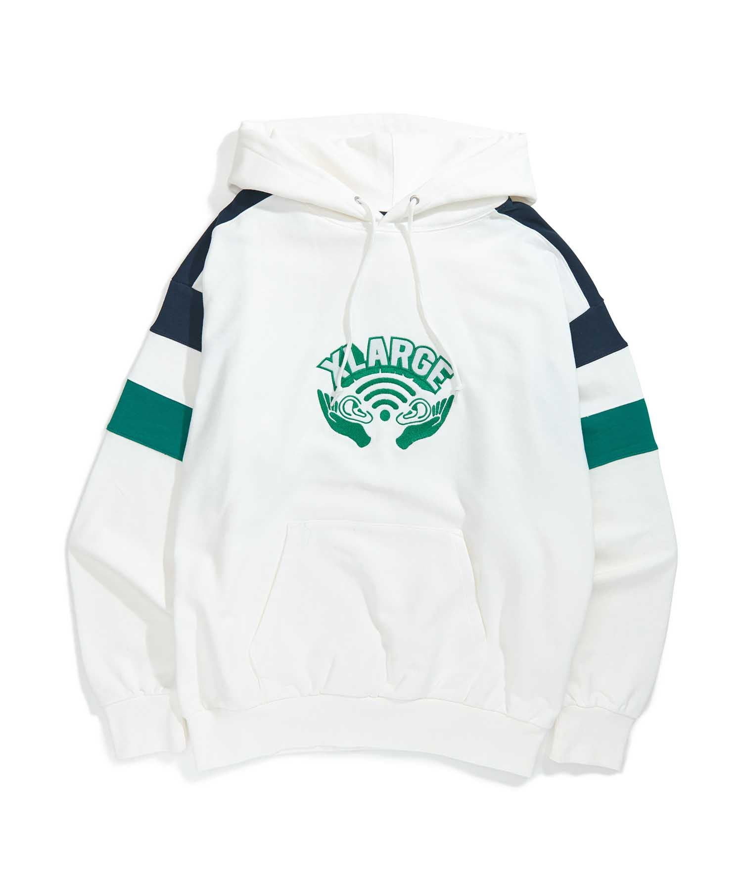 EAR WI-FI PULLOVER HOODED SWEAT FLEECE, CREWNECK, HOODIE XLARGE