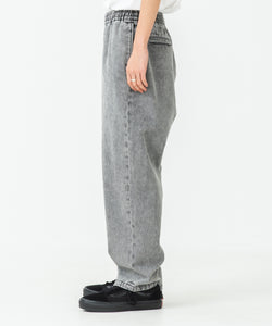 OVERDYED DENIM EASY PANTS PANTS XLARGE