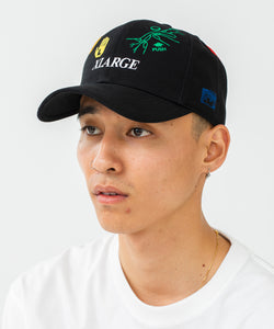 RANDOM EMBROIDERY LOGO 6PANEL CAP HEADWEAR XLARGE