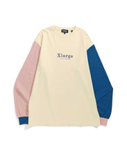 Load image into Gallery viewer, TRICOLOR L/S TEE KNITS XLARGE
