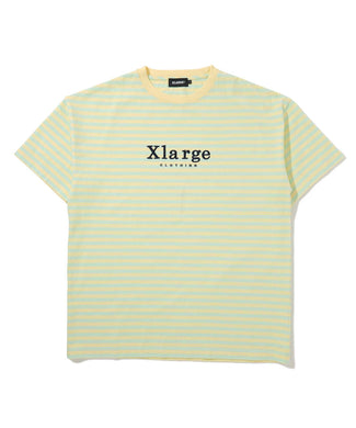 S/S EMBROIDERY BORDER TEE