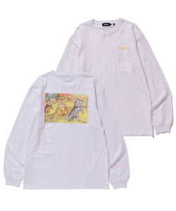L/S OUTSIDER POCKET TEE T-SHIRT XLARGE