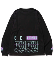 Load image into Gallery viewer, L/S TEE CHINESE LETTERS T-SHIRT XLARGE