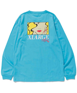 L/S TEE MARRIAGE BLUE T-SHIRT XLARGE