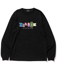 Load image into Gallery viewer, L/S TEE MULTI COLLEGE LOGO T-SHIRT XLARGE