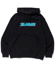 Load image into Gallery viewer, OVER EDGE STANDARD LOGO PULLOVER HOODED SWEAT FLEECE, CREWNECK, HOODIE XLARGE
